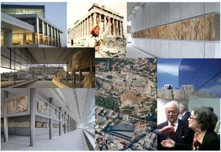 acropolis museum collage
